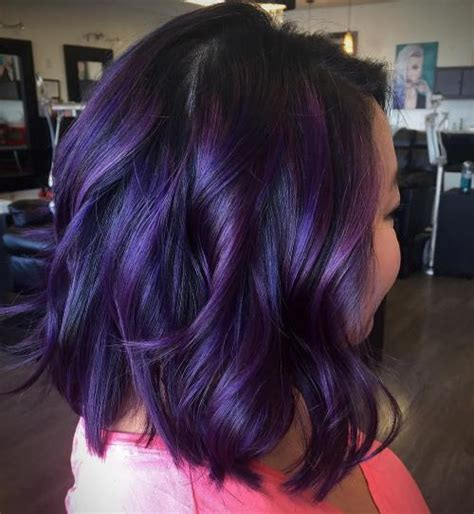 black plum hair color 20 plum hair color ideas for your next makeover 2018 update