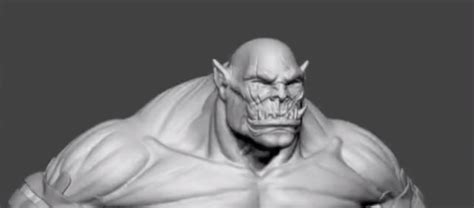 zbrush orc tutorial making of orc with zbrush tutorial