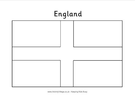 flag of england coloring pages freecoloring4u com