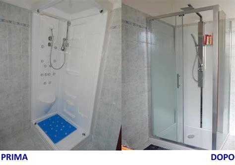 cambio doccia progetto cambio cabina doccia con nuova doccia a brescia