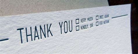 Thank You Letter Header the suggestion get some real thank you cards