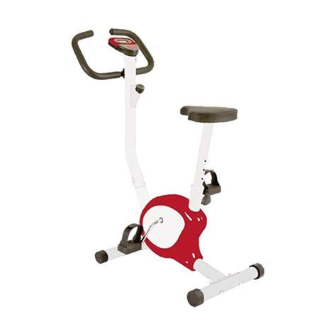 jual total fitness tl 8215 sepeda statis belt merah