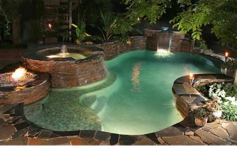Fireplace In Garden by Garden Pool And Fireplace Assemble 15 Ideas Fresh