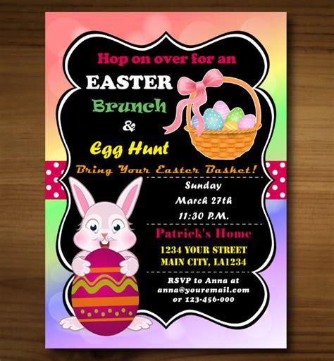brunch invitation template free easter brunch invitation template free merry