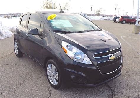 Cars With Great Gas Mileage by 2014 Chevrolet Spark Ls Black Cars With Great Gas