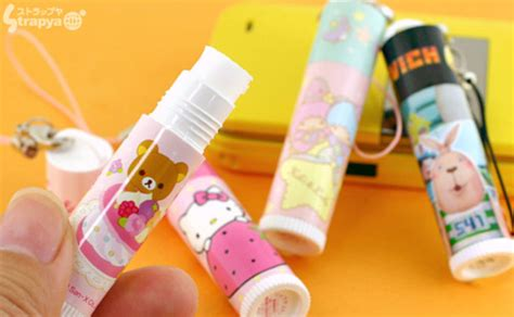 Thrifty Clever Cell Phone Lip Gloss Charms by Kawaii Cell Phone Charms Bonbonbunny