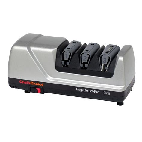 bench knife sharpener chef schoice m125 edgeselect pro 3 stage professional