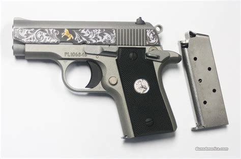 Colt Mustang 380 Auto by Colt Mustang Pocketlite 380 Auto Special Edition Engraved