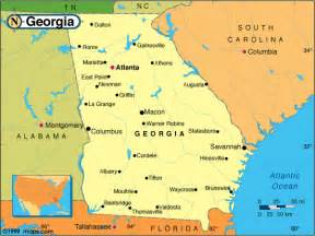 where is augusta on the map augusta map