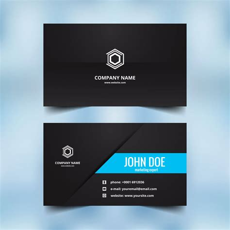 Business Card Template With And Logo by Business Card Sle Design Http 49designers