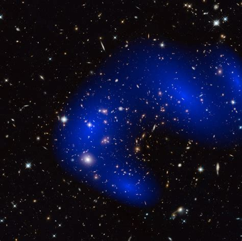 galaxy matter matter even darker than once thought sciencedaily