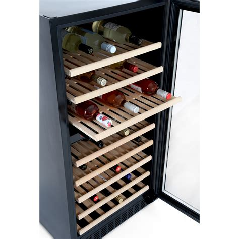 baumatic 7 bottle wine cooler buy baumatic bwc1215ss wine cooler black with stainless