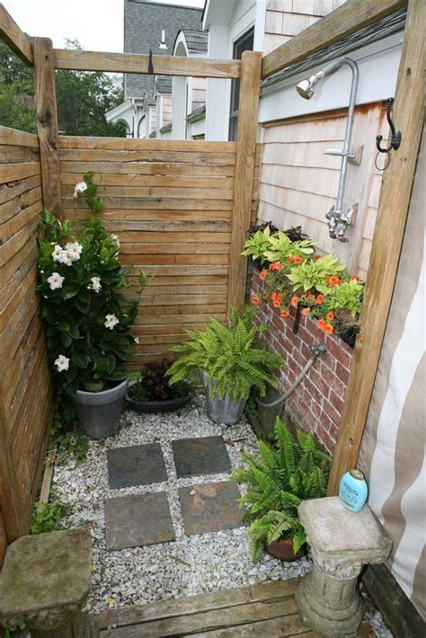 the outdoor shower 18 tropical and outdoor shower ideas small house