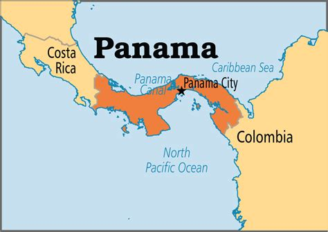 panama city on map panama is country in america the capital of panama