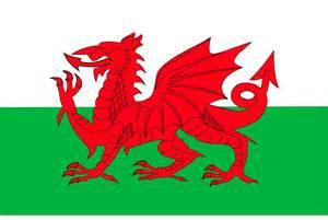 bandera gales colouring pages