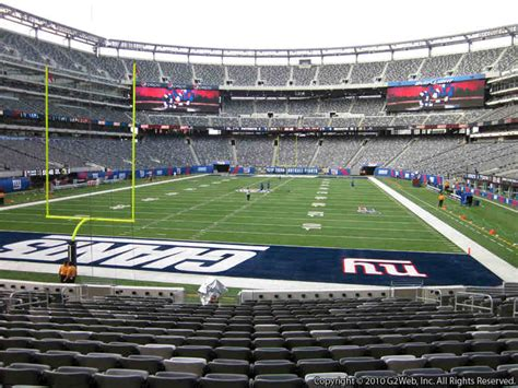 metlife stadium section 149 giants jets metlife stadium section 124 rateyourseats com