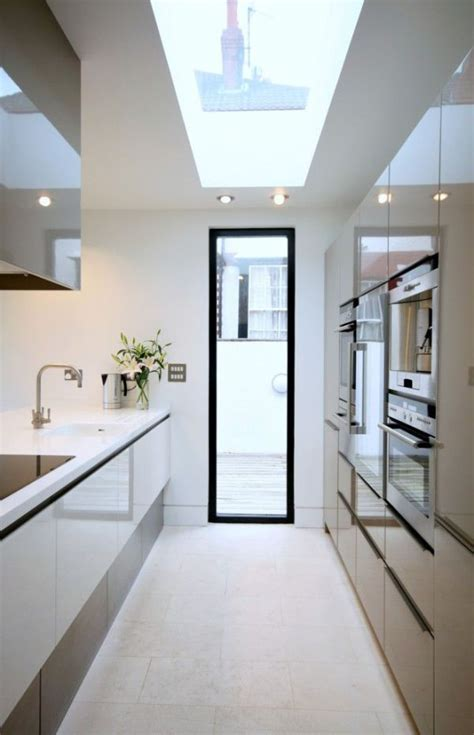 narrow kitchen design ideas interiorholiccom