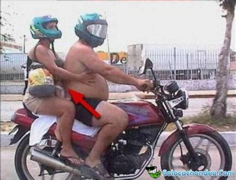 fotos comicas en moto motos solocachondeo humor videos graciosos