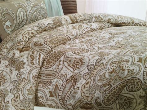 bella lux bedding blue and brown paisley bedding bella lux paisley blue