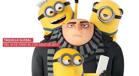 imagenes de los minions y gru taquilla global gru y sus miniones de d 243 lares cine premiere