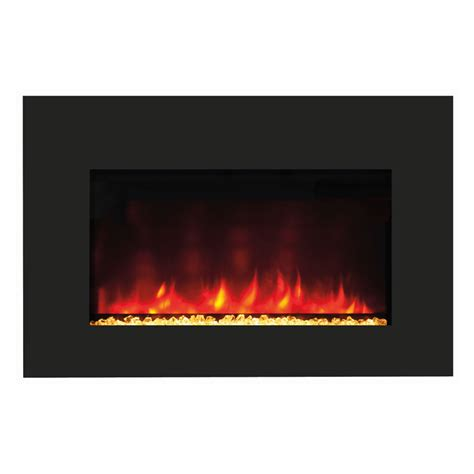 Amantii Zero Clearance Electric Fireplace with 41x34