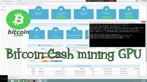 bitcoin pool tutorial bitcoin cash mining gpu supernova mining pool tutorial