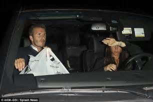 Beckhams To Quit La by David Beckham Stops By Whole Foods After Dinner With