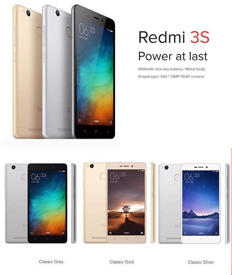 Xiaomi 3s 16gb By Kahfi Store xiaomi redmi mi 3s price all anti shock new mobile