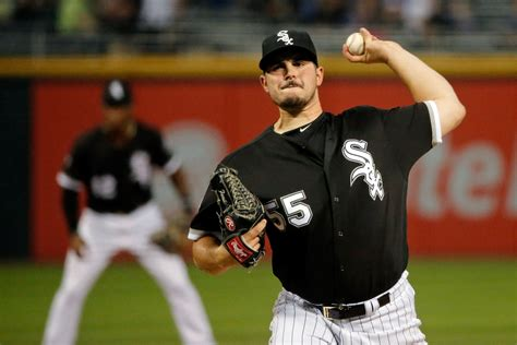 Topi Basseball White Sox High Quality carlos rodon on his again with nine strikeouts in 7 2 victory chicago tribune