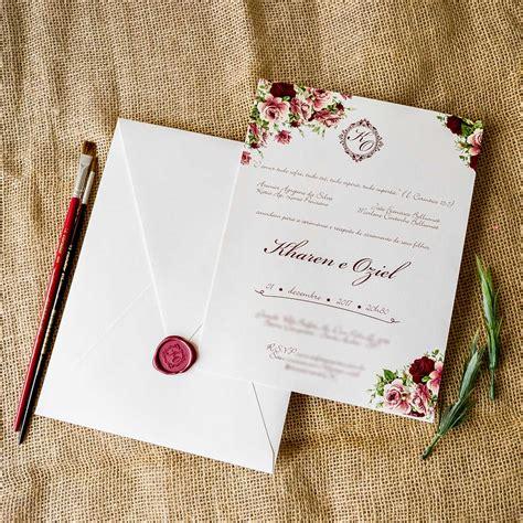 convite de casamento flores em aquarela convites de casamento aquarela convite papel e estilo