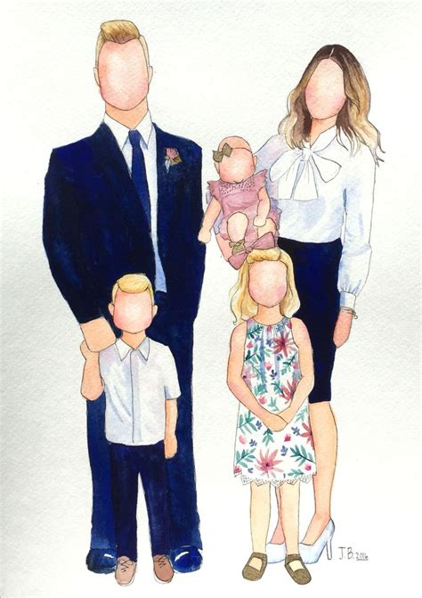 Set Family New 30 32 best images about faceless family portraits on watercolors selfies and lds temples