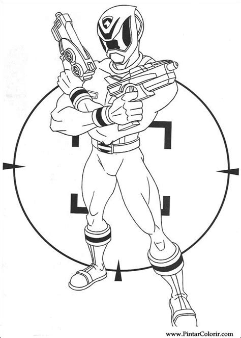 power rangers operation overdrive coloring pages disegni per dipingere colour power rangers stare