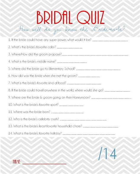 bridal shower discovery game printable 18 best images about wedding on pinterest easy pasta