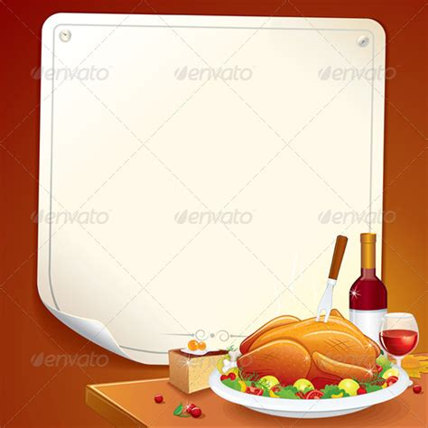 thanksgiving day card vector illustration graphicriver