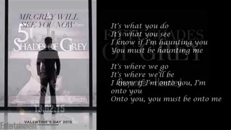 Wohnung Fifty Shades Of Grey by Beyonc 233 Haunted Lyrics Soundtrack Fifty Shades Of Grey
