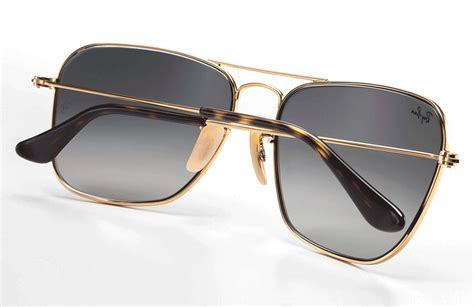 New Kacamata Rayban Caravan 3136 Gold Cokelat Uv Protection Glass buy ban square caravan sunglasses for rb3136 181 58 eyewear uae souq