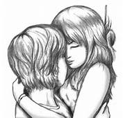 Displaying 16&gt Images For  Cute Couple Hugging Sketch