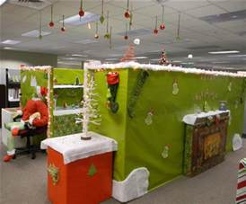 christmas cubical whoville decoration christmas cubicle
