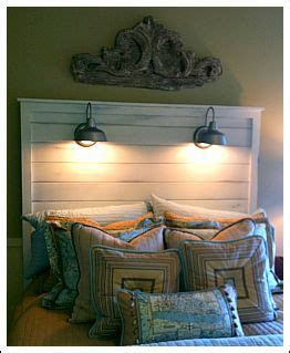 your own wall light your own headboard attach wall lights to it instead