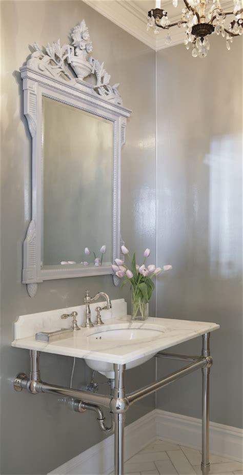 bathroom mirrors chicago powder room mirrors transitional bathroom leo