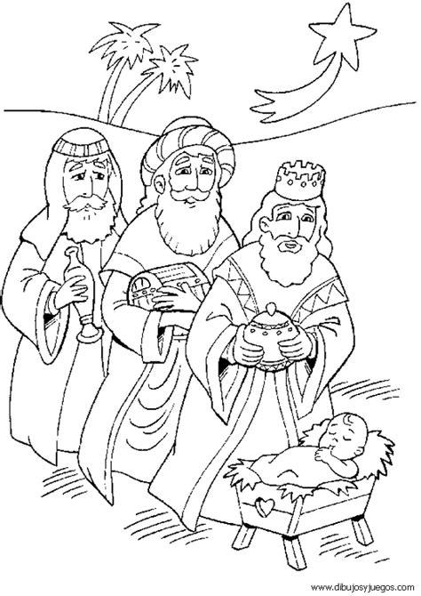 imagenes reyes magos en blanco y negro dibujos reyes magos navidad 009 dibujos y juegos para