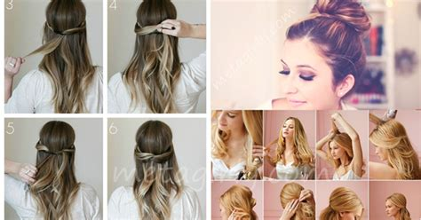 easy hairstyles for hair tutorials hairstyles for hair tutorials best hair style