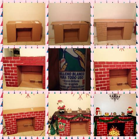 How To Make A Chimney Out Of Paper - best 25 cardboard fireplace ideas on