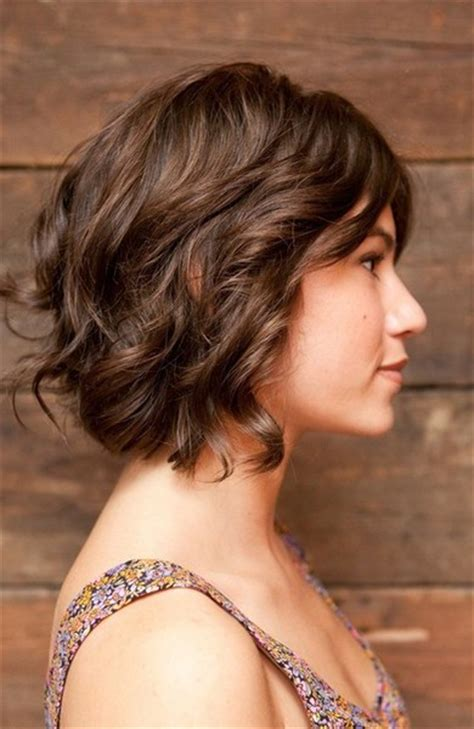 bobs for wavy hair the fascinate curly bob hairstyles best medium hairstyle