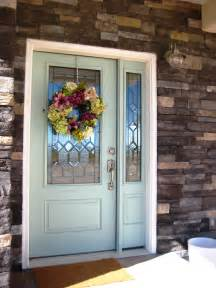 Painted Exterior Front Doors » Home Design 2017