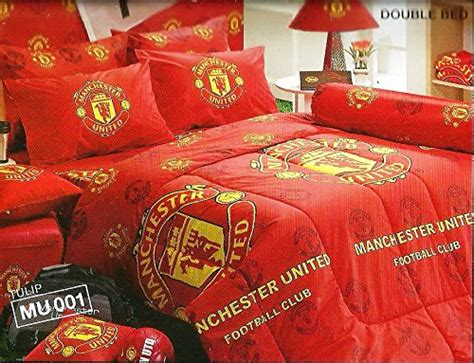 manchester united bedding manchester united football club bedding in bag set twin