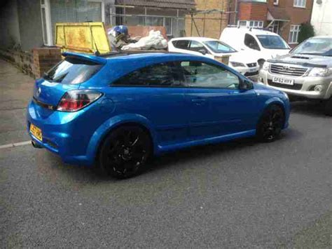 vauxhall astra 2007 2007 vauxhall astra vxr blue car for sale