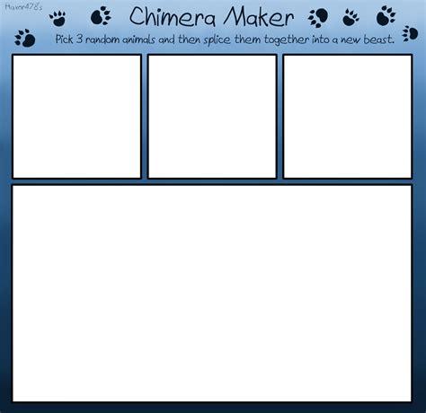 Blank Meme Maker - chimera maker blank meme by haxor478 on deviantart