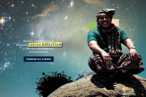 alkitab web lembaga alkitab indonesia betapa menenangkan mendapat sebuah kepastian ditengah