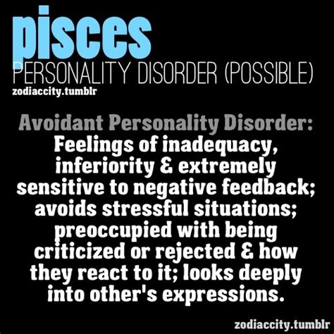 pisces potential personality disorder gt gt http amykinz97
